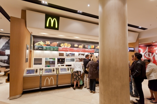 McDonald's restaurant in Paris, France