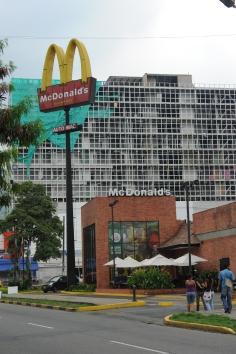 McDonald's restaurant, Popayan, Colombia