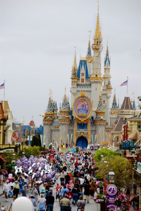 Magic Kingdom at Walt Disney World Orlando Florida FL.