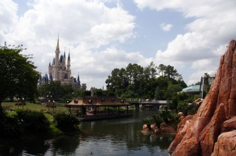 Cinderella Castle in Disney's Magic Kingdom. Image shot 05/2007. Exact date unknown.
