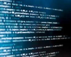 Full-frame view of HTML code